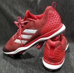 ADIDAS Power Alley 5 Low Metal Baseball Cleats